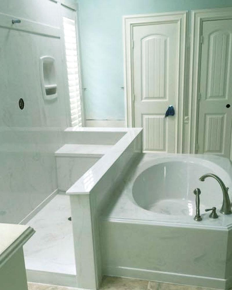 CM Custom Marble Design Bathroom Design Houston